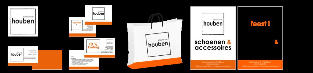 Mooie huisstijl van Schoenen van Houben