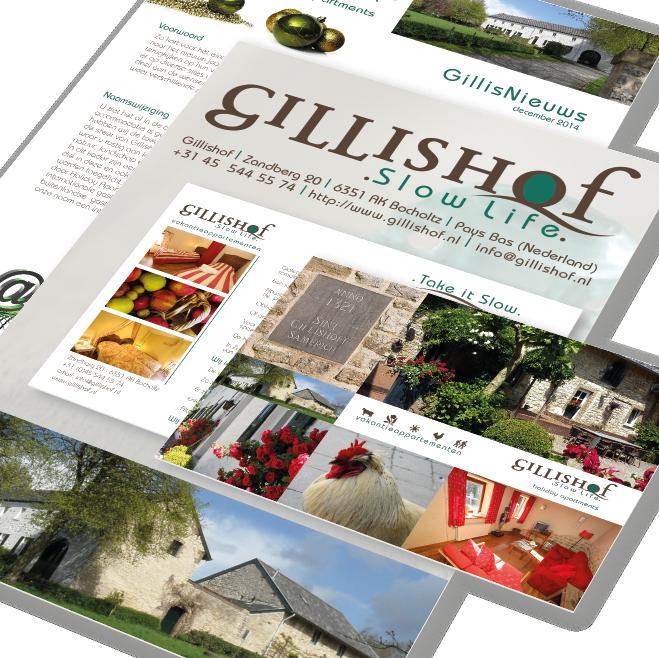 Attività huisstijl compleet voor Gillishof
